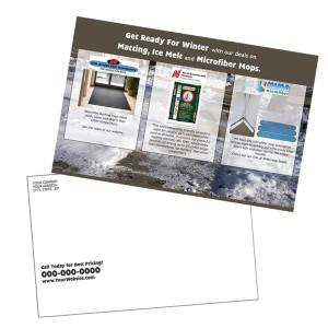 Postcard example